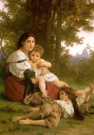William-Adolphe Bouguereau - Rest 1879
