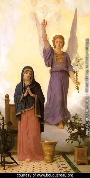 William-Adolphe Bouguereau - The Annunciation 1888