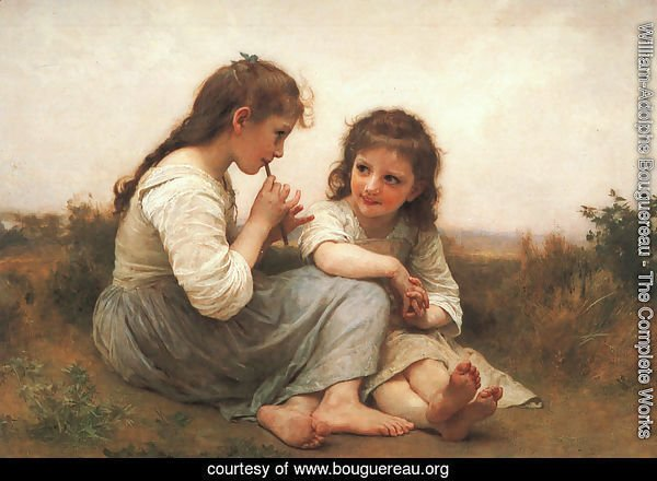 Two Girls (Childhood Idyll) 1900
